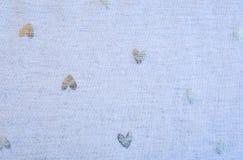 Ασημένιο σχέδιο καρδιών, άνευ ραφής Στοκ φωτογραφίες με δικαίωμα ελεύθερης χρήσης