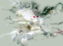Ασημένιο υπόβαθρο, ζωηρό υπόβαθρο watercolor, σύσταση Στοκ φωτογραφία με δικαίωμα ελεύθερης χρήσης