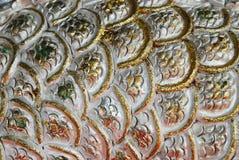Ασημένιο χρυσό υπόβαθρο Στοκ φωτογραφία με δικαίωμα ελεύθερης χρήσης