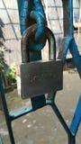 Ασημένιο χρώμα χάλυβα κλειδαριών Kico επαγγελματικό στοκ εικόνα με δικαίωμα ελεύθερης χρήσης