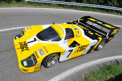 ασημένιο vernasca της Porsche σημαιών το& Στοκ Φωτογραφία