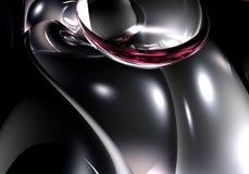 ασημένιο violette 01 metall Στοκ Εικόνα