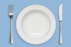 ασημικές πιάτων Στοκ εικόνες με δικαίωμα ελεύθερης χρήσης
