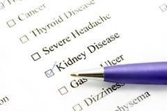 Ασθένεια νεφρών στοκ φωτογραφίες