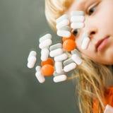 ασθένεια παιδικής ηλικία Στοκ Εικόνα
