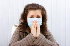 Ασθένεια στην εργασία στοκ εικόνα με δικαίωμα ελεύθερης χρήσης