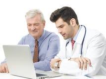 ασθενής γιατρών Στοκ εικόνα με δικαίωμα ελεύθερης χρήσης