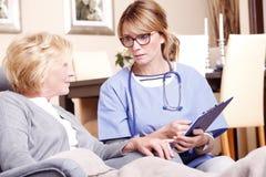 ασθενής γιατρών Στοκ εικόνες με δικαίωμα ελεύθερης χρήσης