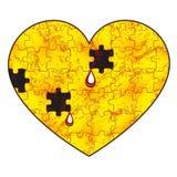 Ασθενής καρδιά Στοκ εικόνες με δικαίωμα ελεύθερης χρήσης
