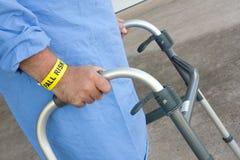 Ασθενής κινδύνου πτώσης Στοκ εικόνες με δικαίωμα ελεύθερης χρήσης