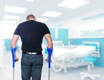 ασθενής νοσοκομείου Στοκ Εικόνα