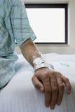 Ασθενής νοσοκομείου Στοκ Φωτογραφίες