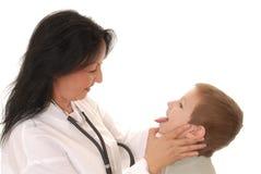 ασθενής 7 γιατρών Στοκ Εικόνες