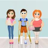 Ασθενείς για να επισκεφτεί την ορθοπεδική απεικόνιση αποθεμάτων