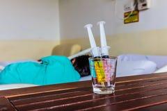 Ασθενείς νοσοκομείου στοκ φωτογραφίες