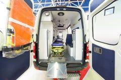 Ασθενοφόρο οπισθοσκόπο Στοκ Φωτογραφία