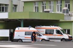 ασθενοφόρο ER Στοκ φωτογραφία με δικαίωμα ελεύθερης χρήσης