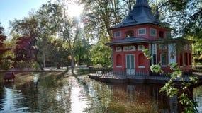 Ασιάτης ενέπνευσε την οικοδόμηση Στοκ εικόνα με δικαίωμα ελεύθερης χρήσης