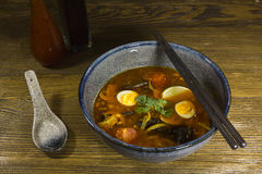 Ασιάτης η σούπα Στοκ Εικόνα