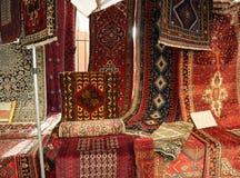Ασιάτης και βόρειος αφρικανικός τάπητας για την πώληση Στοκ εικόνα με δικαίωμα ελεύθερης χρήσης