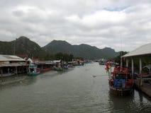 Ασιατικά αλιευτικά σκάφη στοκ εικόνες