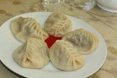 Ασιατικά εθνικά τρόφιμα Στοκ Εικόνες