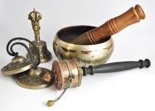 Ασιατικά θρησκευτικά αντικείμενα Στοκ Εικόνες