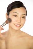 Ασιατικά καλλυντικά ομορφιάς γυναικών Στοκ φωτογραφία με δικαίωμα ελεύθερης χρήσης