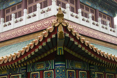 Ασιατικά κινεζικά παλαιά κτήρια Στοκ εικόνα με δικαίωμα ελεύθερης χρήσης