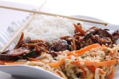 Ασιατικά/κινεζικά τρόφιμα Στοκ Εικόνα
