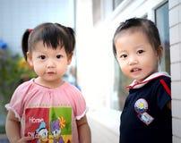 ασιατικά παιδιά Στοκ Φωτογραφία