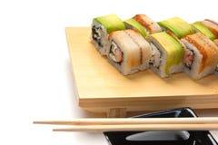 ασιατικά σούσια τροφίμων π Στοκ Εικόνα