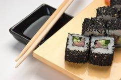 ασιατικά σούσια τροφίμων π Στοκ Φωτογραφίες