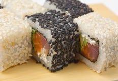 ασιατικά σούσια τροφίμων π Στοκ Εικόνες
