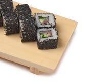 ασιατικά σούσια τροφίμων π Στοκ εικόνα με δικαίωμα ελεύθερης χρήσης