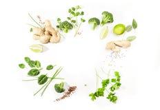ασιατικά συστατικά τροφί&mu Στοκ Εικόνες