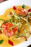 ασιατικά τηγανητά τροφίμων &k Στοκ φωτογραφία με δικαίωμα ελεύθερης χρήσης