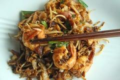ασιατικά τηγανισμένα noodles Στοκ Εικόνα