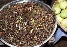 Ασιατικά τρόφιμα αγοράς στοκ φωτογραφίες
