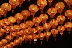 Ασιατικά φανάρια της Κίνας Στοκ Φωτογραφίες