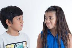 Ασιατικά χαριτωμένα παιδιά Στοκ φωτογραφία με δικαίωμα ελεύθερης χρήσης