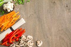 Ασιατικά vegan συστατικά τροφίμων Στοκ εικόνες με δικαίωμα ελεύθερης χρήσης