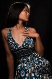 ασιατικές νεολαίες γυναικών μόδας Στοκ Εικόνες