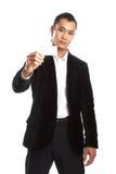 ασιατικές νεολαίες επιχειρηματιών Στοκ Φωτογραφία