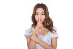 ασιατικές νεολαίες γυναικών στοκ εικόνες