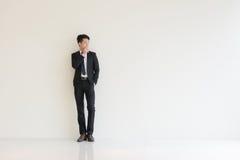 ασιατικές νεολαίες επιχειρηματιών στοκ εικόνα