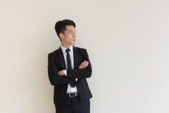 ασιατικές νεολαίες επιχειρηματιών στοκ εικόνες