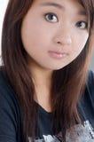 ασιατικές πρότυπες όμορφες νεολαίες Στοκ Φωτογραφίες