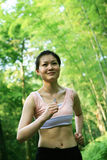 ασιατικές τρέχοντας νεο&la στοκ εικόνες