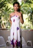 ασιατικές όμορφες γυναί&kapp Στοκ Φωτογραφίες
